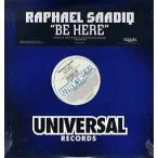 "RAPHAEL SAADIQ feat D'angelo - BE HERE 12"" US 2002年リリース"