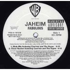 "JAHEIM feat Cam'ron, Tha Rayne - FABULOUS-REMIX 12"" US 2002年リリース"