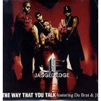 "JAGGED EDGE feat Jermaine Dupri, Da Brat - THE WAY THAT YOU TALK 12"" US 1997年リリース"