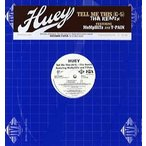 "HUEY feat T-Pain, MeMpHiTz - TELL ME THIS-REMIX 12""  US  2007年リリース"