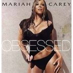 "MARIAH CAREY feat Gucci Mane - OBSESSED 12"" US 2009年リリース"