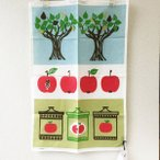 "【almedahls/アルメダールス】""赤リンゴ"" マリアンヌ・ウェストマン 復刻版 キッチンタオル"