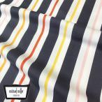 Michael Miller マイケルミラー 生地 kimono stripe ストライプ ホワイト地 ファブリック生地 ミッドセンチュリー コットン100%