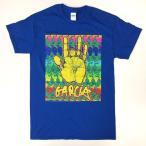 グレイトフル・デッド Grateful Dead Jerry Garcia ハンド ブルー Tシャツ