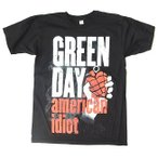 GREEN DAY グリーン・デイ american idiot! プリントTシャツ バンドT