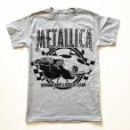 METALLICA メタリカ Burning グレーTシャツ