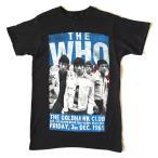the WHO ザ・フー THE GOLDHAWKS CLUB 1965 ブラックTシャツ