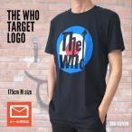 the WHO ザ・フー TARGET  バンドT ブラックTシャツ