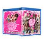 AIW ブルーレイ「Girls Night Out 16」(2015年10月3日オハイオ州クリーブランド)【キャンディス・レラエ 対 ミア・イム(ジェイド)】