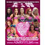 AIW DVD「Girls Night Out 19」(2017年3月11日オハイオ州クリーブランド)【シェイナ・ベイズラー 対 アリシン・ケイ】
