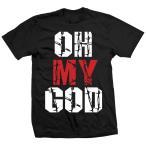 ジョーイ・スタイルズ(ECW) Tシャツ「Joey Styles Oh My God Tシャツ」【アメリカ直輸入(日本未発売)プロレスTシャツ 大きいサイズもあり】