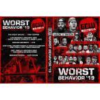 【GCW日本大会DVD】GCW DVD「Worst Behavior 最悪の行動」(2019年8月22日東京 新木場1stRING)アメリカ直輸入盤DVD