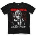 ケニー・オメガ Tシャツ「Kenny Omega Terminator Tシャツ」【アメリカ直輸入プロレスTシャツ 大きいサイズ(XXL 3XL 4XL)もあり】