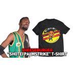 ROH チーズバーガーTシャツ「Cheeseburger SHOTEI PALMSTRIKE Tシャツ」【アメリカンプロレスTシャツ アメリカ直輸入品】