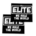 【ポイント2倍】The ELITE(ケニー・オメガ&ヤングバックス)「エリート ロゴ ステッカー(2枚セット)」