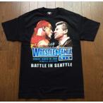 【「アメトーーク!」WWE芸人放送記念&「NXT LIVE JAPAN」開催記念特別セーール!】WWE WrestleMania XIX ホーガン対ビンス Tシャツ【現地買い付け品】