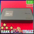 【Wi-Fiルーター/ポケットWi-fi】Wi-Fi WALKER WiMAX 3G DATA08 黒 中古A