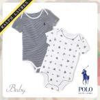 送料無料 Polo Ralph Lauren Baby Bear ロンパース ベアー 300151867 3M/6M/9M[ポロ ラルフローレン][ベビー服][子供服]