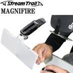 STREAMTRAIL ストリームトレイル クリップオンマグニファイア 拡大鏡 折たたみ式拡大レンズ クリップ式 約2.5倍【あすつく対応】