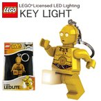 【HOBBY】【LEGO】レゴ STAR WARS スターウォーズ C-3PO キーチェーンLEDライト C3PO