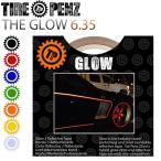 【送料無料】【TIRE PENZ】THE GLOW グロウ 6.35mm×9M リフレクトラインテープ 塗装保護接着剤 リムステッカー ホイールテープ タイヤペンズ【あすつく対応】