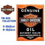 HARLEY DAVIDSON ハーレーダビッドソン ブリキ看板 MOTOR OIL CAN
