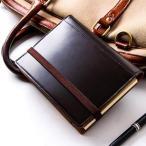 ショッピング手帳 手帳カバー ブリットハウス THEME ガラスレザーシリーズ 手帳カバー A6サイズ BRIT HOUSE
