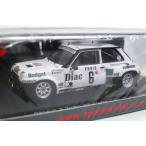 新品S3861 スパーク 1/43 ルノー 5 Turbo #6 4th Monte Carlo Rallye 1984 J.-L.Therier - M.Vial