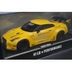 新品 LB640023 LB★PERFORMANCE 1/64 LIBERTY WALK LB-WORKS R35 GT-R イエロー