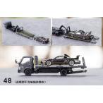 予約 KS020-48 ゲインコーププロダクツ GCD 1/64 日野 フルフロア レッカー車 Hino 300 Full floor Wrecker ダークグレー RHD Black Bird