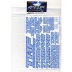 42237 TRFシリーズ TRFステッカーC(ブルーエッジ/ミラー) タミヤ/新品