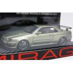 1/43HPI 8356 ミラージュ 浜松市制100周年 7thカートイズミーティング限定2011 日産スカイライン GT-R Mスペック ニュル R34 200台限定