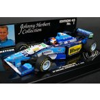 1/43ミニチャンプス 512954302 ベネトンルノー B195 イギリスGP優勝 J.ハーバート 1995#2