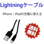 Lightningケーブル ブラック