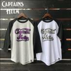 ショッピングWING CAPTAINS HELM/キャプテンズヘルム #WING LOGO QS TEE/ラグランスリーブTシャツ・2color