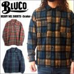 ショッピングSHIRTS BLUCO WORK GARMENT/ブルコ 2017' HEAVY NEL SHIRTS/ヘビーネルシャツ・3color