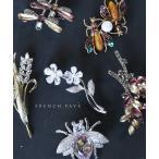 frenchpave 息づくような煌めき 植物と昆虫ブローチコレクション cawaii