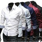 大人気 ワイシャツ Yシャツ 大きいサイズ メンズ 長袖 ウエスタンシャツ カジュアルシャツ カジュアル shirts シャツビズ ビジネス トップス 紳士 細身