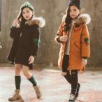 ショッピング子供服 子供服 女の子 子供コート 中綿コート ジャケット 膝丈 キッズコート アウター 中綿 ロングコート 冬着 秋冬 着痩せ 暖かい かわいい