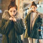 2017新品 人気 モッズコート アウター レディース 冬着 コート 韓国 大きいサイズ フェイクファーコート 裏ボア モッズコート 暖い ロング