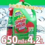 スプレインウォッシュ 650ml+4.2L 詰め替え用大容量ボトルとスプレーのセット シミ取り洗剤 業務用