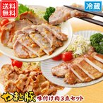 Other - やまと豚味付け肉3点セットA NS-C |やまと豚 豚肉 やまと 豚 ギフト お取り寄せグルメ 味付け肉 お肉 ギフトセット 食品 肉 お取り寄せ 食べ物 セット グルメ