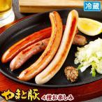 やまと豚 バラエティ4 140g | [冷蔵] ウインナー ウィンナー ウインナーソーセージ ソーセージ 肉 お肉 ギフト お取り寄せグルメ おつまみ 食べ物 お歳暮