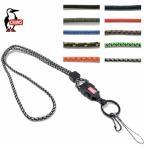 チャムス ネック ストラップ CHUMS CH61-0113 メール便対応 New Lanyard Rope ロープ アウトドア カメラストラップ 携帯
