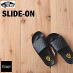 VANS バンズ ヴァンズ SLIDE-ON スライドオン (NATHAN)CHK/BK