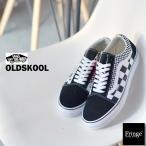 VANS バンズ  ヴァンズ スニーカー OLD SKOOL MIX CHECKER BLACK/TRUE(ブラック×トゥルーホワイト)