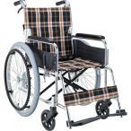 車椅子 車いす 車イス マキテック スタンダード EX-50 自走用 介助ブレーキ付
