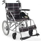 車椅子 車いす カワムラサイクル KV16-40SB 介助用 車
