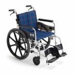 車椅子 車いす MiKi/ミキ KJP-2M アルミ製 自走用[介助ブレーキ付]