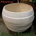 ショッピングプランター ラインポットボウル・F9830(直径51cm×H44cm)(ファイバーグラス/ファイバークレイ)(植木鉢/鉢カバー)(底穴あり/軽量プランター)